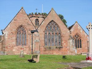 St Lukes Church, Hodnet.
