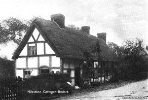 Milestone Cottages, Shrewsbury Street, Hodnet