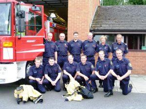 Hodnet's Fire Crew