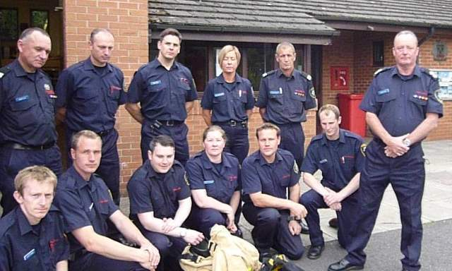 Hodnet Fire and Rescue Crew