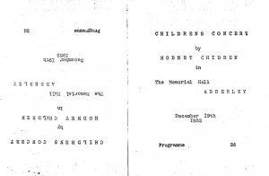 Hodnet Childrens Concert 1