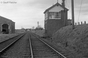 Hodnet Signal Box March 1967