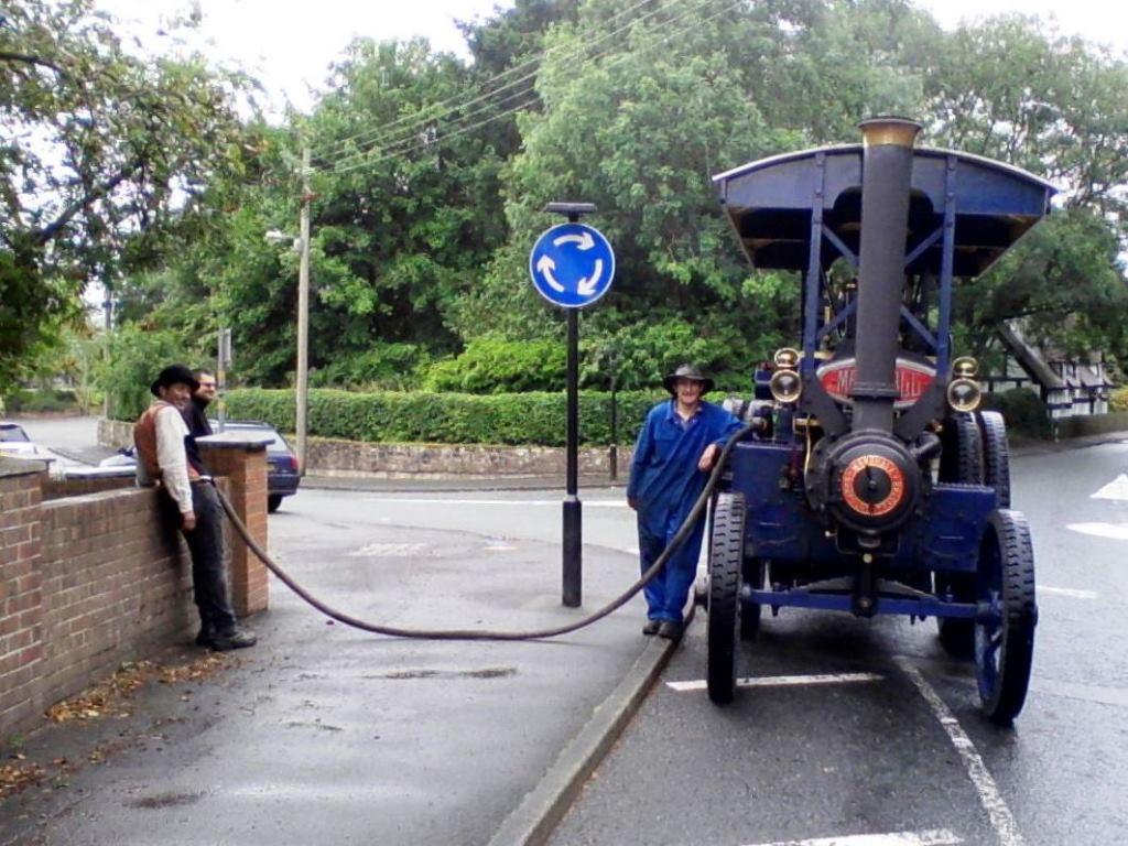 Marshall Steam Tractor Moonraker