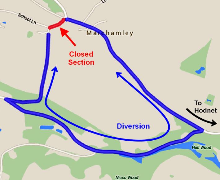 150901 Marchamley Diversion