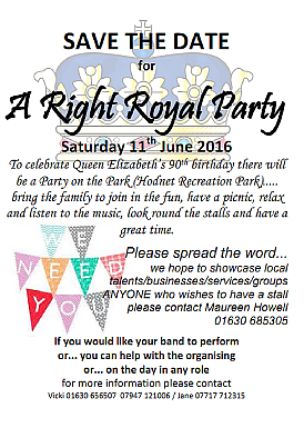 A Right Royal Party