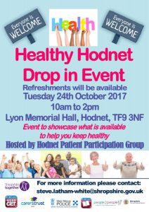 Healthy Hodnet 20017