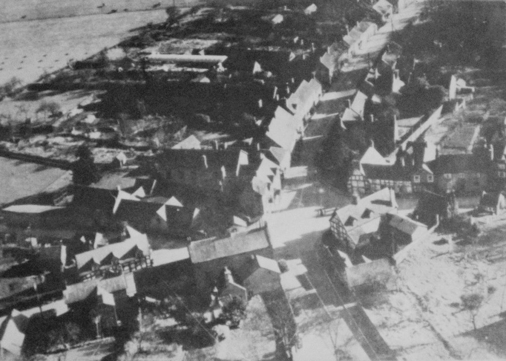 Hodnet from the air probably taken in 1938