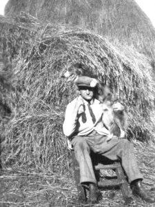 James Naylor & his dog Rover